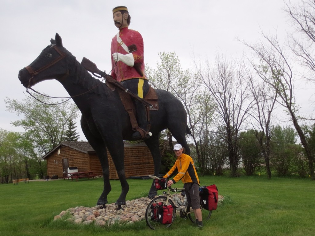 Redvers Mountie on the Redcoat Trail