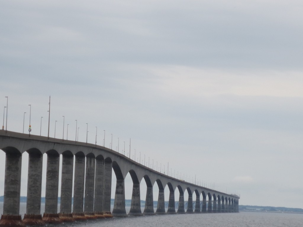 Confederation Bridge to Prince Edward Island. Another province completed!