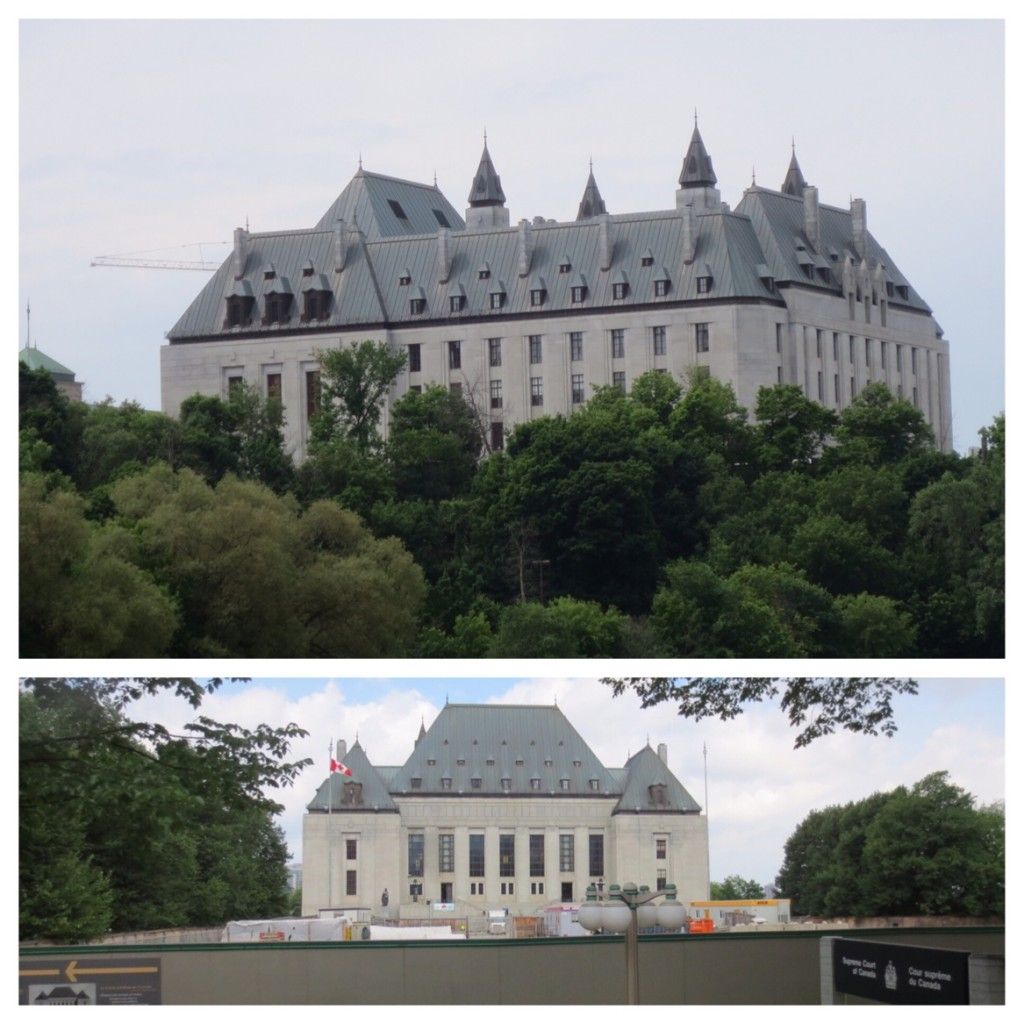 The Supreme Court of Canada. Currently lead by Chief Justice, The Right Honourable Beverley McLachlin