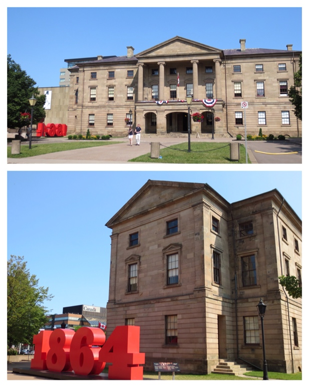 Province House, Charlottetown PEI where the first conference took place