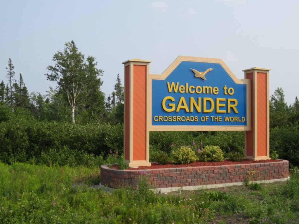 Gander, NL began as the most important airport in transatlantic aviation